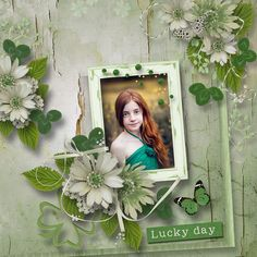 """""""Lucky"""" collab kit by DitaB Designs & Eudora Designs @ PickleBerryPop  FREE collab with any $10 purchase March 14 - 20, 2017  https://www.pickleberrypop.com/shop/product.php?productid=49539&cat=141&page=1  RAK for a friend Zubair"""