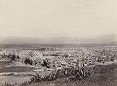 Athens and Mars' Hill | η Αθήνα από τον Άρειο Πάγο | c. 1860 | Francis Frith