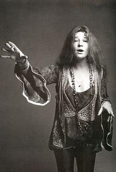 Janis Joplin by Francesco Scavullo, 1969.