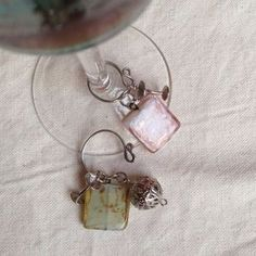 How to make wine glass charms via @Guidecentral - Visit www.guidecentr.al for more #DIY #tutorials