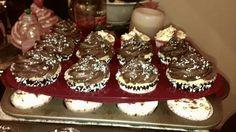 Cookies 'N Cream with Oreo in the middle KupKake
