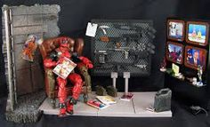 Resultado de imagen para marvel diorama