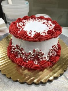 New Cake Decorating Buttercream Birthday Icing Recipe Ideas Christmas Cake Designs, Christmas Cake Decorations, Holiday Cakes, Christmas Cakes, Christmas Birthday, Birthday Cake Decorating, Cake Decorating Tips, New Cake Design, Birthday Cake With Flowers