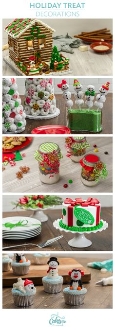 Create a winter wonderland with unique holiday cupcake and cake decorations. Find Christmas cake ideas and supplies here.