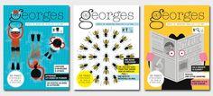 En 2011 nous avons lancé Georges, un magazine pour enfants original, audacieux et sans publicité, destiné aux 7-12 ans. Notre intuition était bonne. Un tel magazine était très attendu et vos retours sont élogieux ! Entre Georges et ses lecteurs, ...