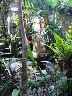 Balinese tropical garden. #garden #landscape #tropical