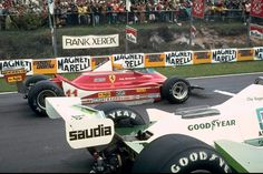 Scheckter & Regazzoni, Zolder 79