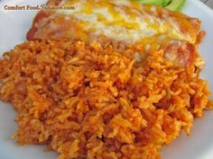Mexican Rice. Throw all ingredients in a rice cooker, and you're good to go! http://comfortfoodinfusion.com/rice-cooker-mexican-rice/