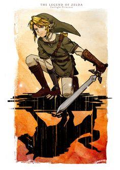 The Legend of Zelda by あらまき Twilight Princess is my favorite Zelda game. The Legend Of Zelda, Link Twilight Princess, Majora Mask, Pokemon, Skyward Sword, Link Zelda, Wind Waker, Zelda Breath, Fan Art