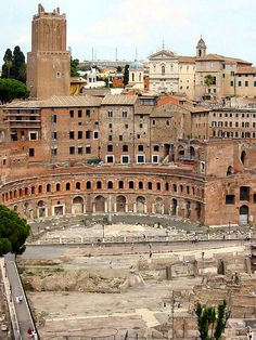 Trajan's Market, Rome. Museum around back. This is a must*