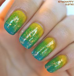 Summer Margarita: Manicure Featuring Daisy, Leah, and Annie from Julep