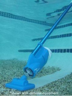 Swimming Pool or Hot Tub Vacuum Cleaner Battery Spa Intex Automatic Hose hottub…
