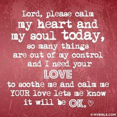 Discover and share My Heart And Soul Quotes. Explore our collection of motivational and famous quotes by authors you know and love. Soul Quotes, Heart Quotes, Faith Quotes, Life Quotes, Overwhelmed Quotes, I Need You Love, Everything Will Be Ok, Prayer Board, God Loves Me
