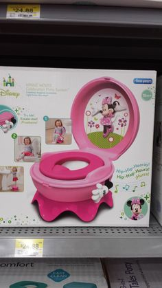 Minnie Mouse Potty Chair Converts to Toilet and Step Stool & Potty Seat (Think will do this instead of Potty Chair) Walmart ... islam-shia.org