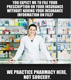 Memes That Every Pharmacy Should Post Pharmacy Meme, Pharmacy School, Pharmacy Technician, Pharmacy Assistant, Pharmacist Humor, Medical Humor, Nurse Humor, Work Memes, Work Humor