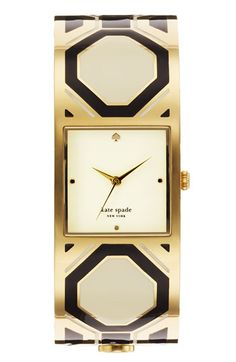 kate spade new york 'delacorte' bangle watch