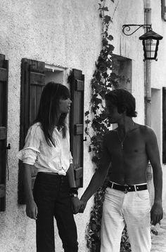 Francoise Hardy and Jacques Dutronc