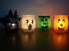Photophores rigolos pour #Halloween par lesptitesdecosdelolo sur le #CDB