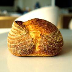 Sourdough semolina bread