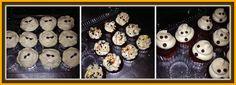 Halloween Mini Cupcakes  Red Velvet with Vanilla Bean Swiss Meringue Buttercream www.heaveninhellcakes.com Swiss Meringue Buttercream, Hells Kitchen, Mini Cupcakes, Red Velvet, Sushi, Vanilla, Halloween, Breakfast, Ethnic Recipes