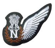 Aircrew badges commonly known as WINGS are worn by theIndian air force's officers and airmen crew on their uniforms is the symbol of qualification badge Indian Air Force, S Monogram, Badge, Badges