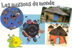 DDM - Les maisons du monde - Caracolus Teaching Social Studies, Teaching Kids, Educational Activities, Activities For Kids, Montessori, Les Continents, Petite Section, Teaching French, Too Cool For School