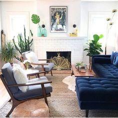 Blue couch living room - Sven Cascadia Blue Right Sectional Sofa – Blue couch living room Blue Couch Living Room, Room Design, Interior, Livingroom Layout, Modern Living Room, Blue Couch Living, Couches Living Room, Mid Century Modern Living Room, Living Decor