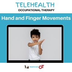 Telehealth OT: Hand and Finger Movements! : Your Kids OT Ocupational Therapy, Hand Therapy, Therapy Tools, Therapy Ideas, Work Activities, Therapy Activities, Occupational Therapy Schools, Movement Preschool, Infant Lesson Plans