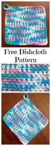 My Favorite Dishcloth free crochet pattern
