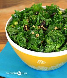 Copy cat chick fil a  kale super foods salad  /www.southernplate.com