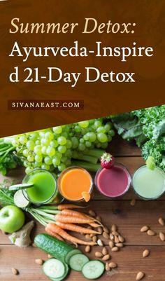 Summer Detox: Ayurveda-Inspired 21-Day Detox