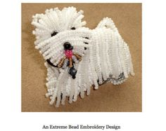 PDF file: Intro to Extreme Basic Bead Embroidery by thelonebeader
