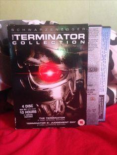 The Terminator Collection, The Terminator 1984 , Terminator 2 Judgement Day.