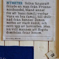 Just nu på Hemslöjden i Skåne.