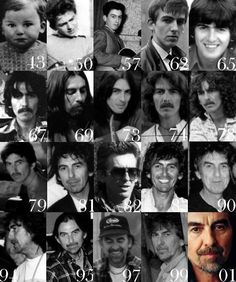 George Harrison 25 February 1943 29 November 2001 Though The Years