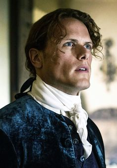 Jamie & Claire from the Outlander series - outlander-news: Jamie always has his eye on the...