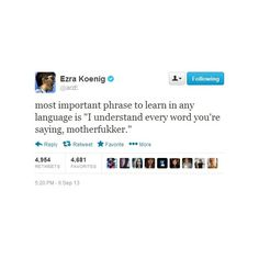 The Best Things Vampire Weekend's Ezra Koenig Has Ever Tweeted ❤ liked on Polyvore featuring fillers and photo