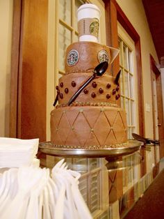 Starbucks Cake by @Steve Benson N Jen Lucas
