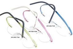 Silhouette Optical introduces SPX Art Kids, a screwless, hingeless, rimless collection made of hypoallergenic, corrosion-resistant High Tech Titanium and the company's proprietary SPX plastic.