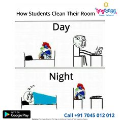 #Students this is not the right way to clean your room!  For Affordable laundry services visit: http://www.tingtongg.com/