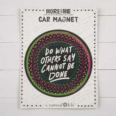 "More Than Me ""Do What Others"" Magnet"