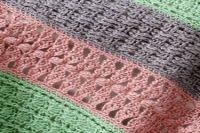 Caron International   Free Project   Soft Stripes Throw
