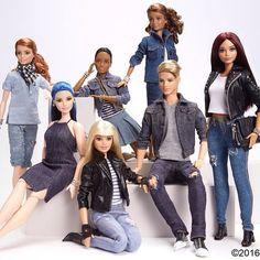 Barbie x Denim IV.  #barbiexdenim #barbie #barbiestyle