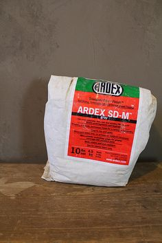 Using Ardex SD-M for faux concrete walls