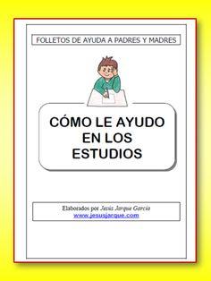 Como le ayudo en los estudios Familia Y Cole, Cards, Special Education, Adhd, Brochures, Playing Cards, Maps