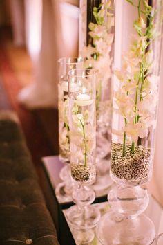 Photo: Gina Meola Photography - wedding centerpiece idea