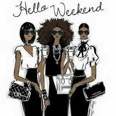 Hello Weekend~ Megan Hess
