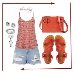 """""""Vacation day 5"""" by hinson-hunny ❤ liked on Polyvore featuring Topshop, maurices, Charlotte Russe, Francesco Biasia, Whistles, FOSSIL and Jewel Exclusive"""