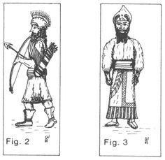 Urartu, arquero y jefe, s VI a.C.