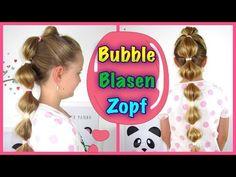 ❤Bubble Blasen Zopf❤Flechtfrisur +Verlosung(geschlossen)☀ Pferdeschwanz Frisur für Mädchen❤ - YouTube